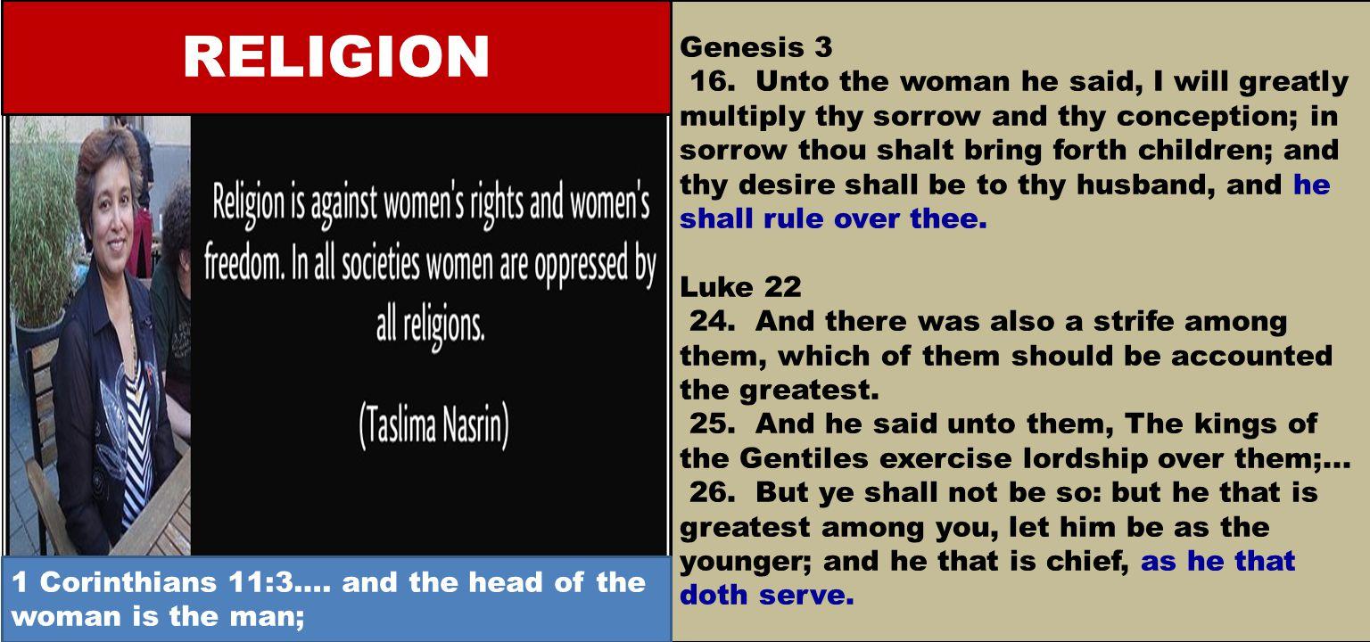 Genesis 3 16.