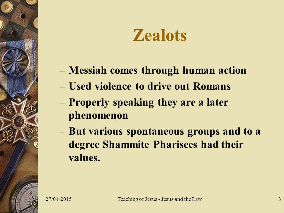 27/04/2015Teaching of Jesus - Jesus and the Law14 The Beelzebul controversy  By what power did Jesus act.