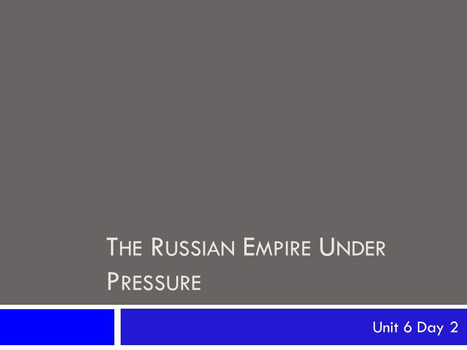 October Manifesto 1905  We, Nicholas II, Emperor and Autocrat of All the Russias, Tsar of Poland, Grand Duke of Finland, etc.