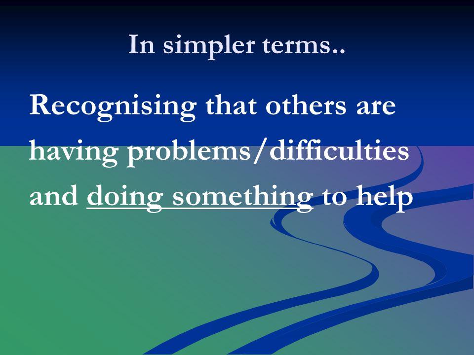 In simpler terms..