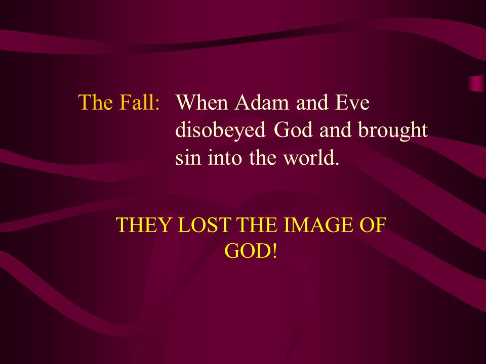 Genesis 3:7-8 Then the eyes of both of them were opened, and they realized they were naked; so they sewed fig leaves together and made coverings for themselves.
