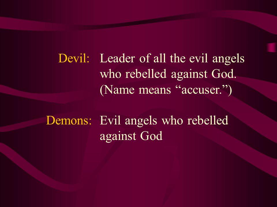 Angel:Spiritual messengers or servants of God