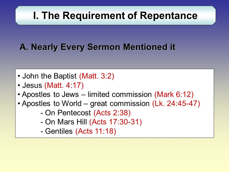2 Cor 7:10 For godly sorrow produces repentance leading to salvation, not to be regretted; but the sorrow of the world produces death.