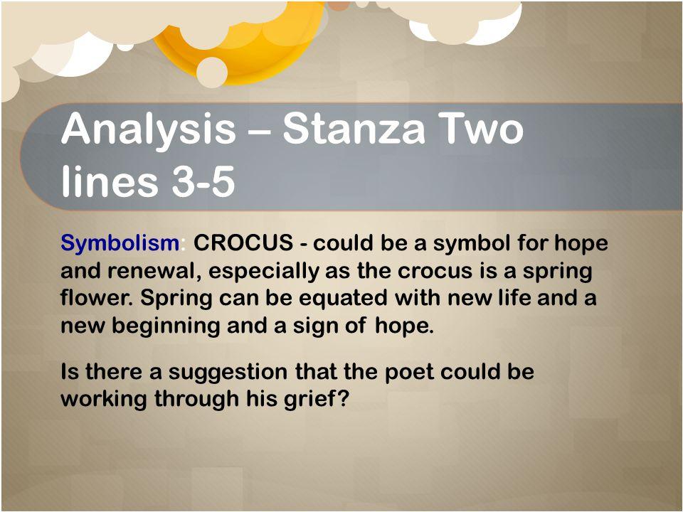 Analysis – Stanza Two NO!.