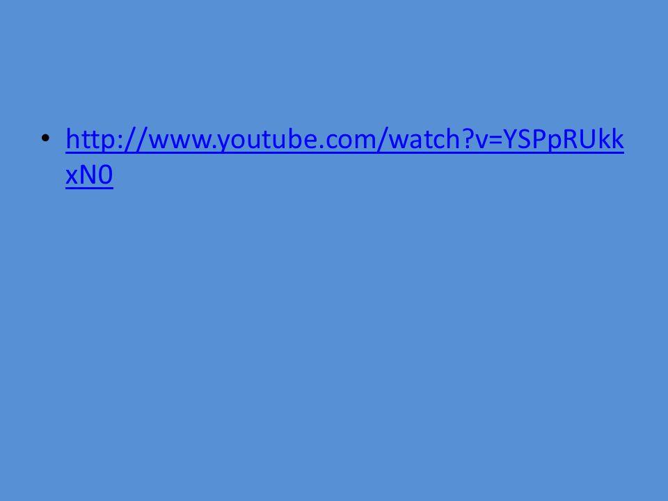 http://www.youtube.com/watch v=YSPpRUkk xN0 http://www.youtube.com/watch v=YSPpRUkk xN0