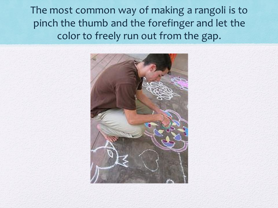 History The Chola dynasty (c.850-1250 CE) is known to have made many floor paintings.