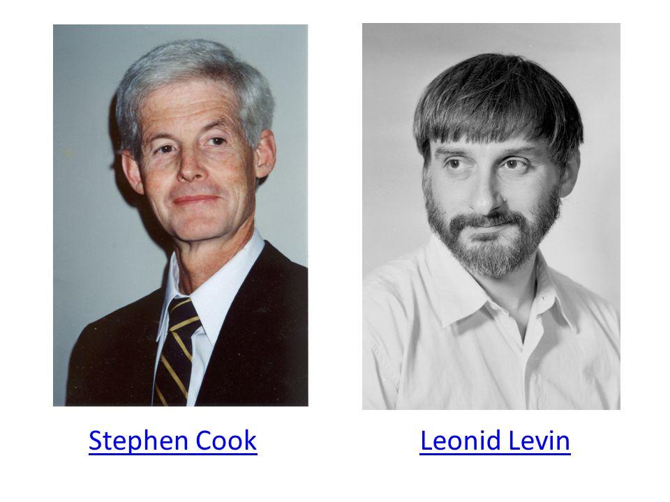 Stephen CookLeonid Levin