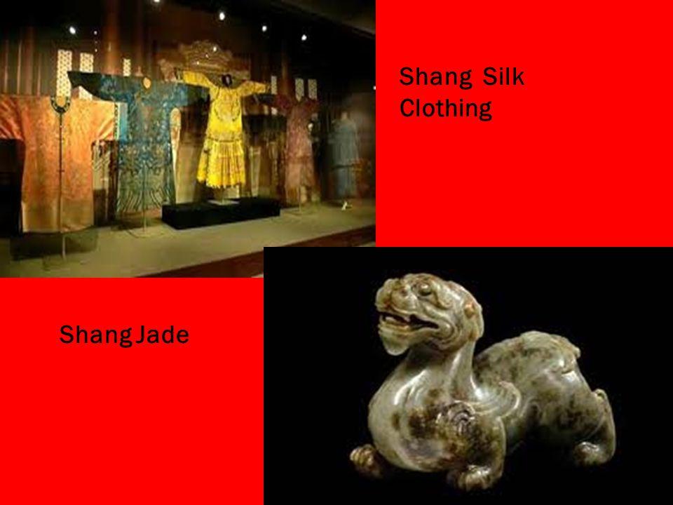 Shang Silk Clothing Shang Jade