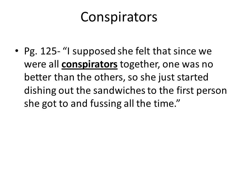 Conspirators Pg.