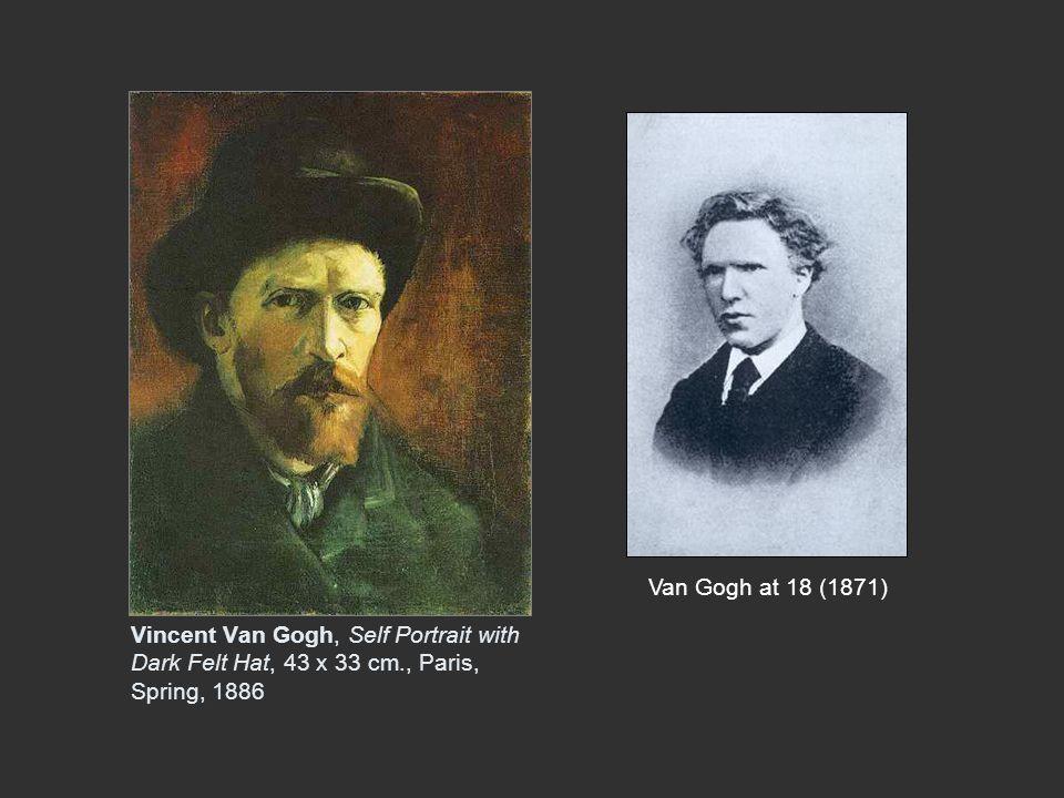 (left) Van Gogh, Sorrow (Clasina Hoornik, called Sien ) 1882 (right) Worn Out, 1882, both drawn in The Hague