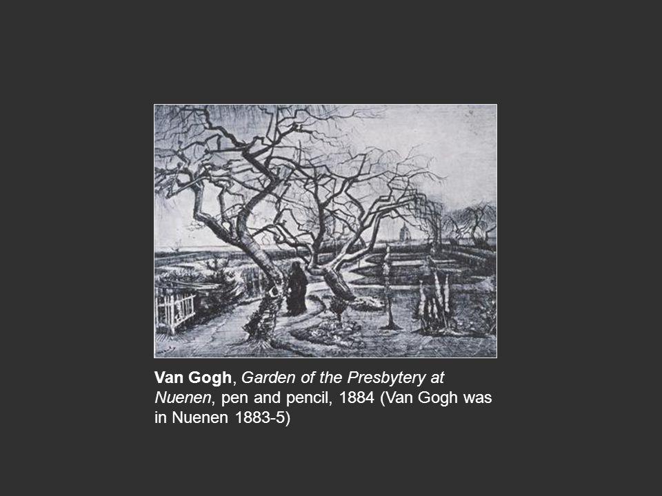 Van Gogh, Memory of a Garden at Etten 1888 Gauguin, Women of Arles, 1888