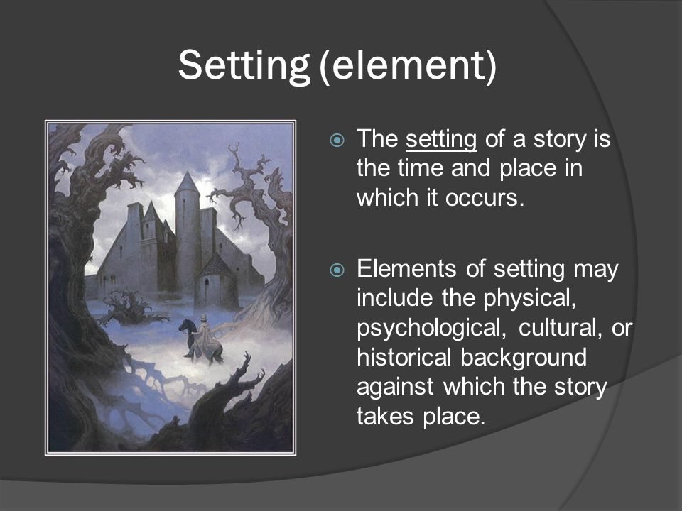 Point of View  First person/subjective—The narrator restricts the perspective to that of only one character to tell the story.
