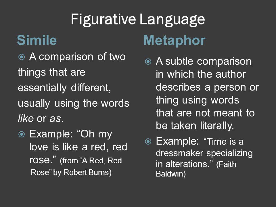 Figurative Language ImageryAlliteration  The use of language to create mental images and sensory impressions.