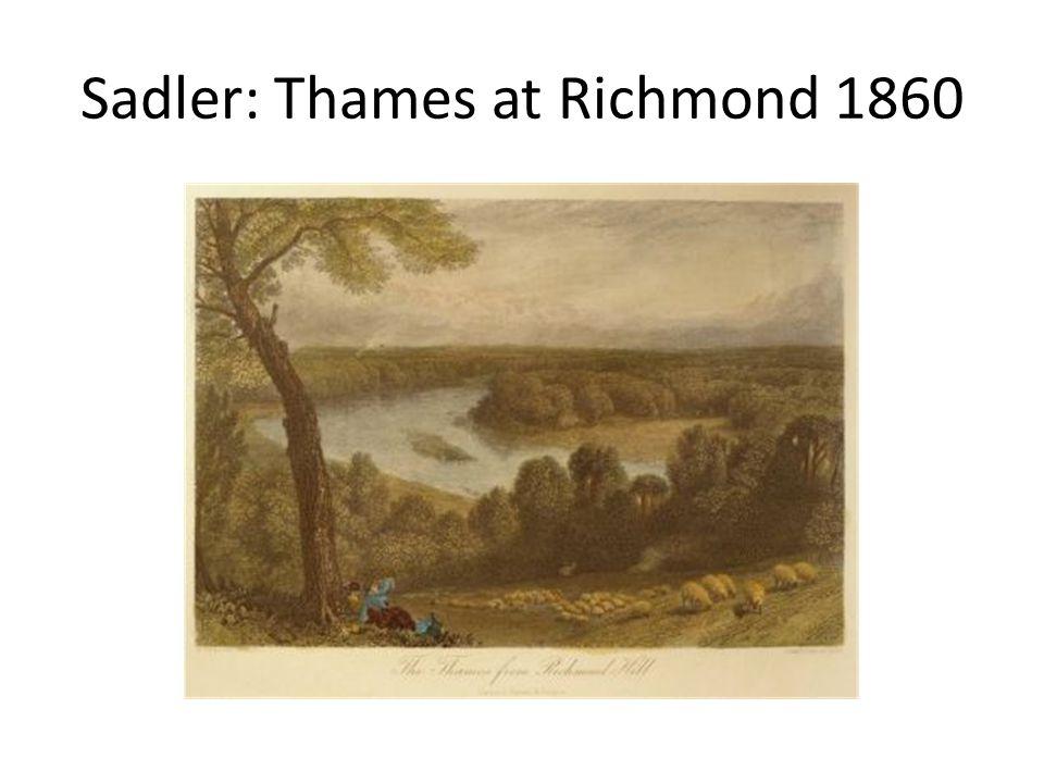 Sadler: Thames at Richmond 1860
