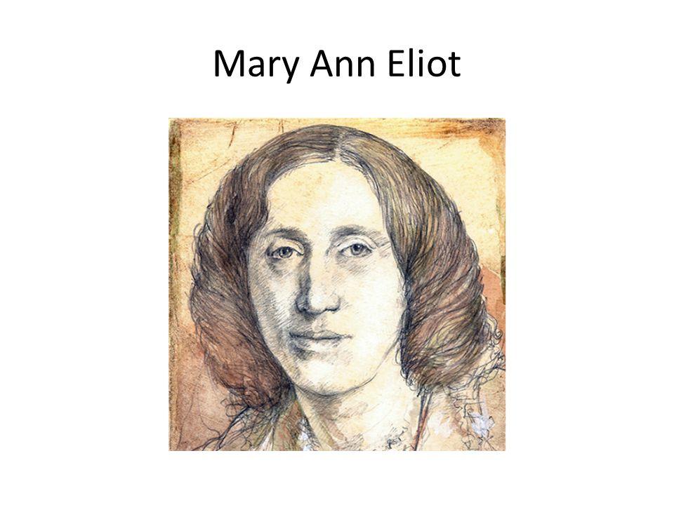 Mary Ann Eliot