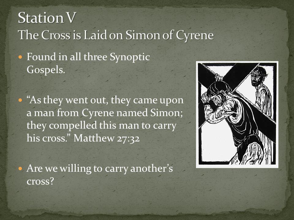Found in all three Synoptic Gospels.
