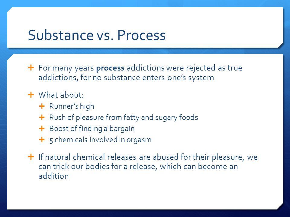 Substance vs.