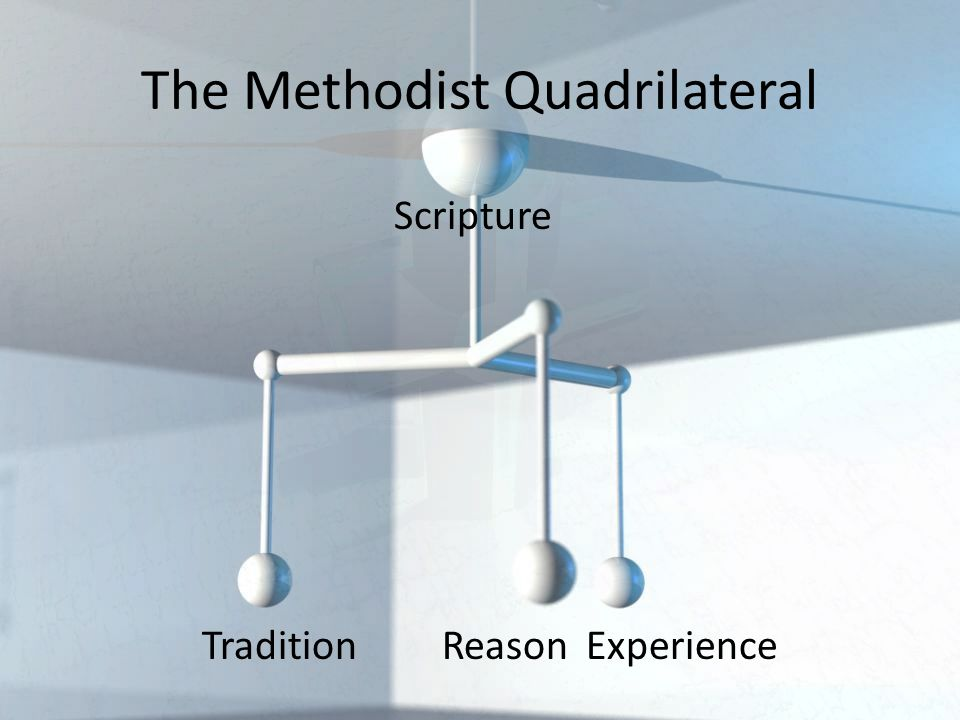 Scripture Tradition ReasonExperience The Methodist Quadrilateral
