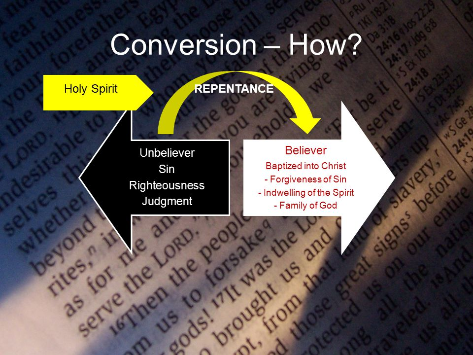Conversion – How.