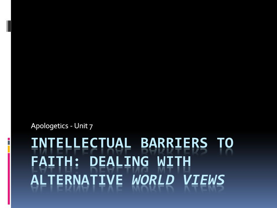 Fundamental Beliefs about Reality -God is outside his world and in control -God is his world -God's world is part of him -God is a fiction of our world