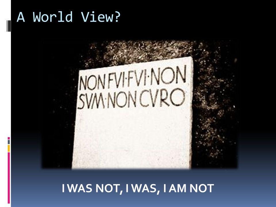 A World View.