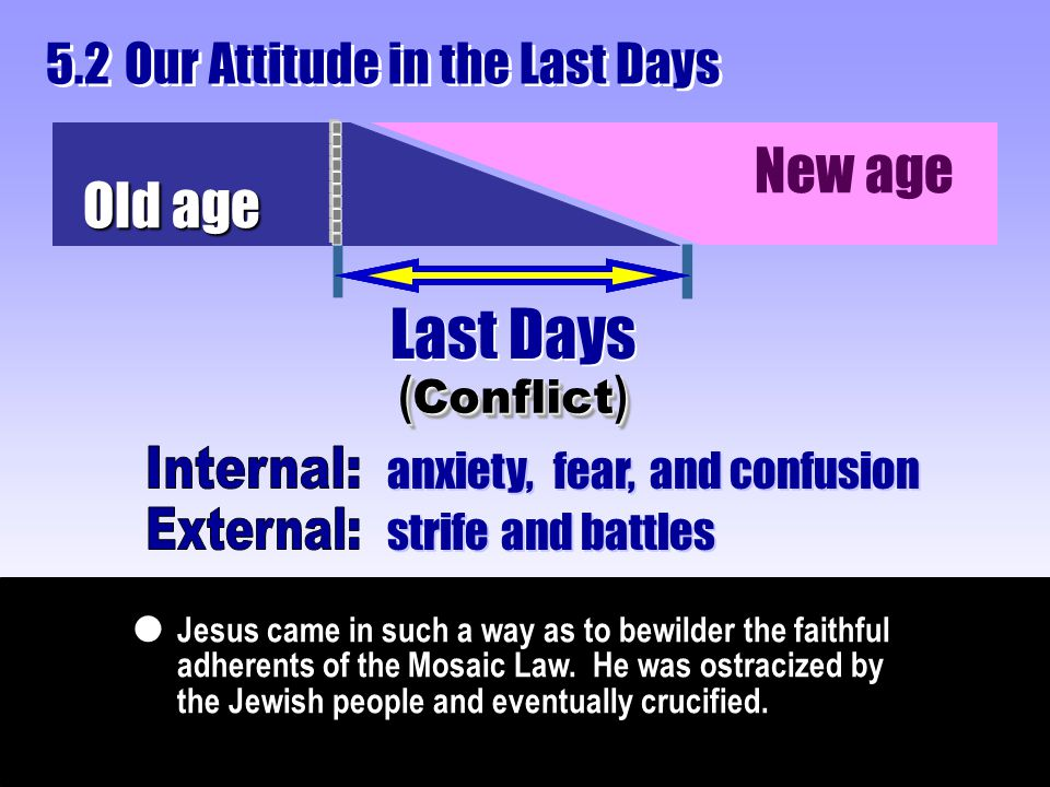 Jesus came in such a way as to bewilder the faithful adherents of the Mosaic Law. He was ostracized by the Jewish people and eventually crucified.  O