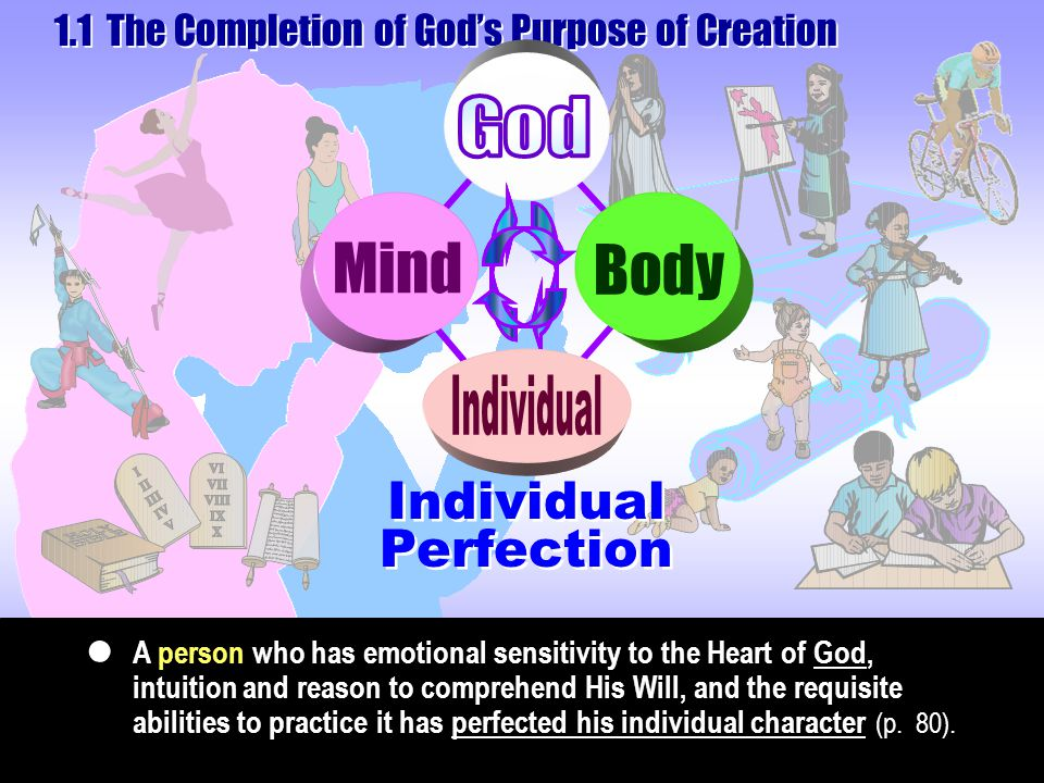 Perfection of Dominion The third blessing means gaining dominion over the natural world (p.