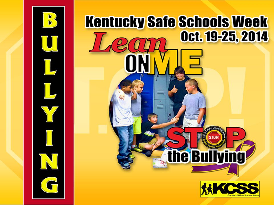 What is bullying.Who is involved. What can be done.
