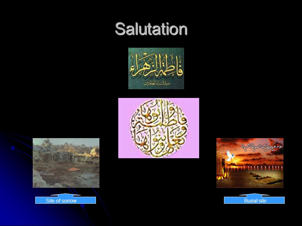 Fatima bemoans the Prophet #4 Father!.