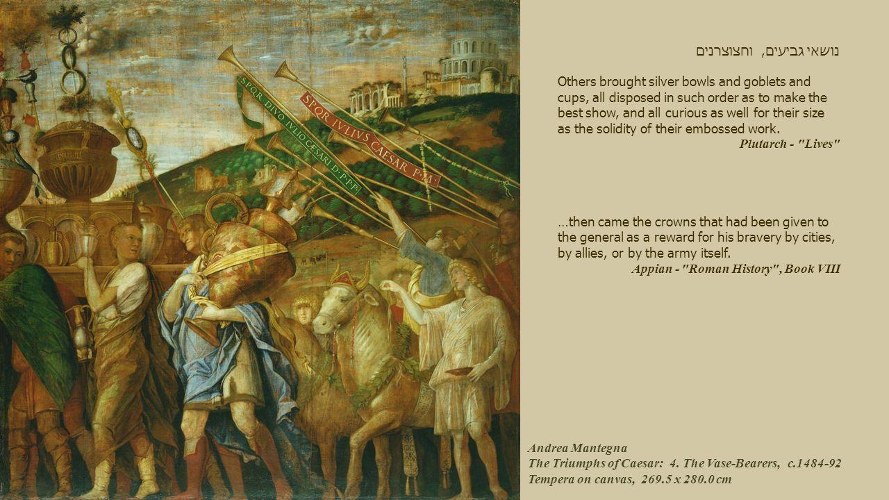 Andrea Mantegna The Triumphs of Caesar: 4.