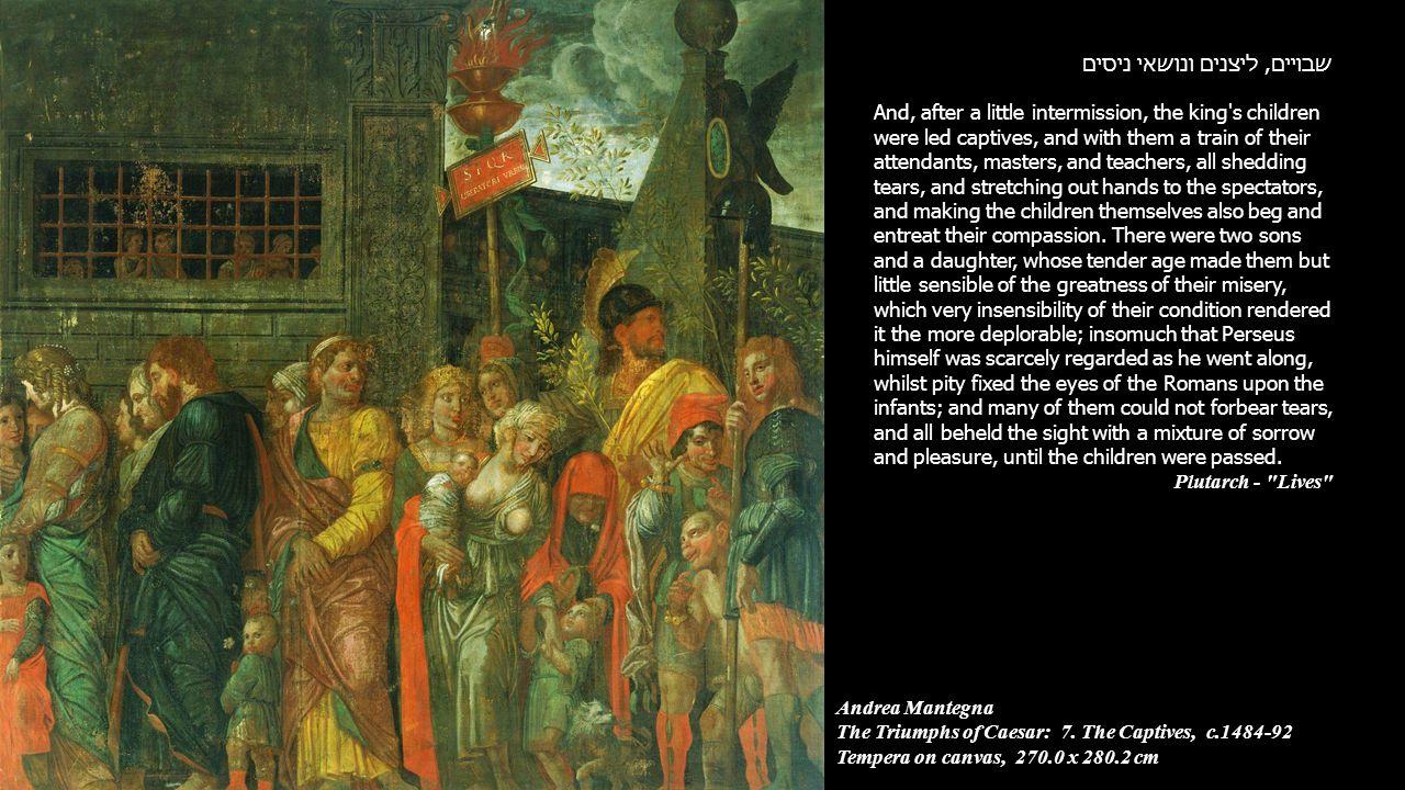 Andrea Mantegna The Triumphs of Caesar: 7.