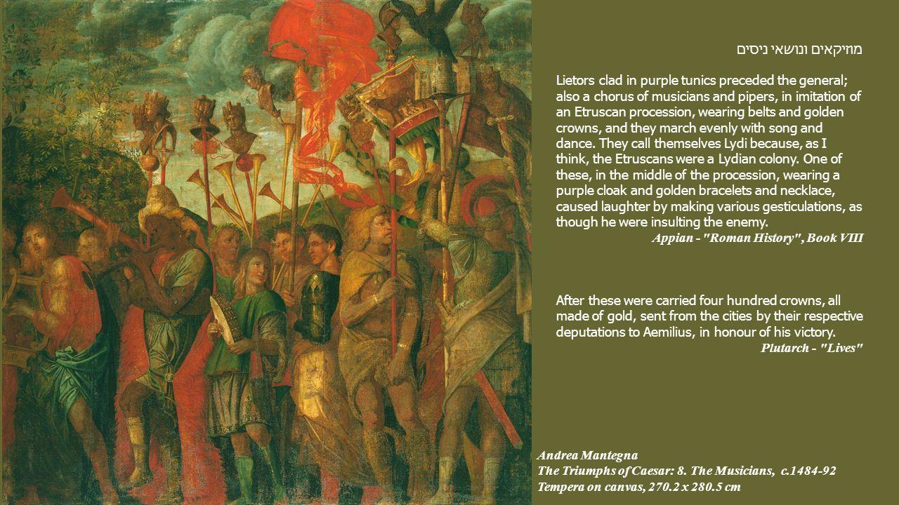 Andrea Mantegna The Triumphs of Caesar: 8.
