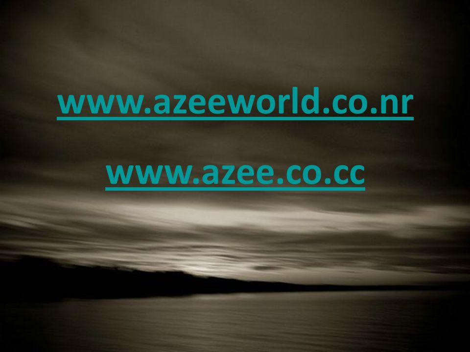 www.azeeworld.co.nr www.azee.co.cc www.azeeworld.co.nr www.azee.co.cc