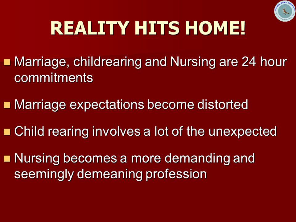 REALITY HITS HOME.