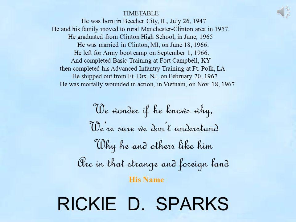 RICKIE D.