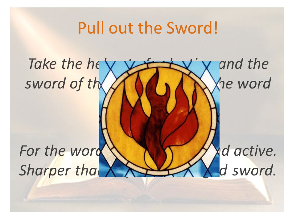 Pull out the Sword.