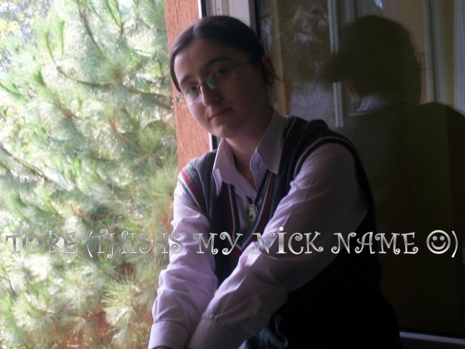  Hi.I'm Tugba Yayla.I was born on 12th August,1993 in Ordu(Turkey).