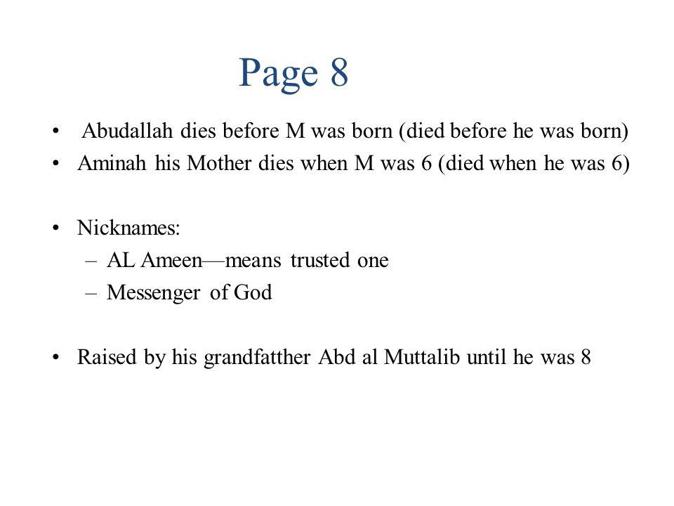 The Life of Muhammad 632-M' last Hajj 632—M dies