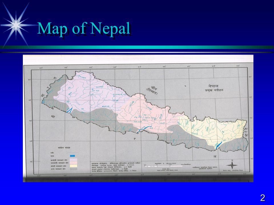 2 Map of Nepal