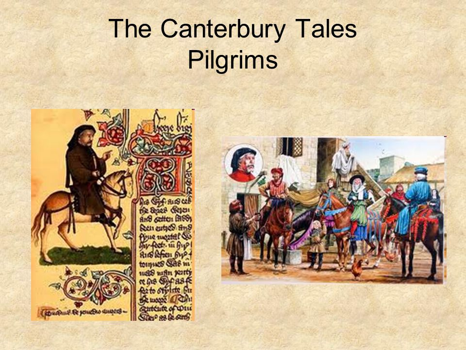 The Canterbury Tales Pilgrims