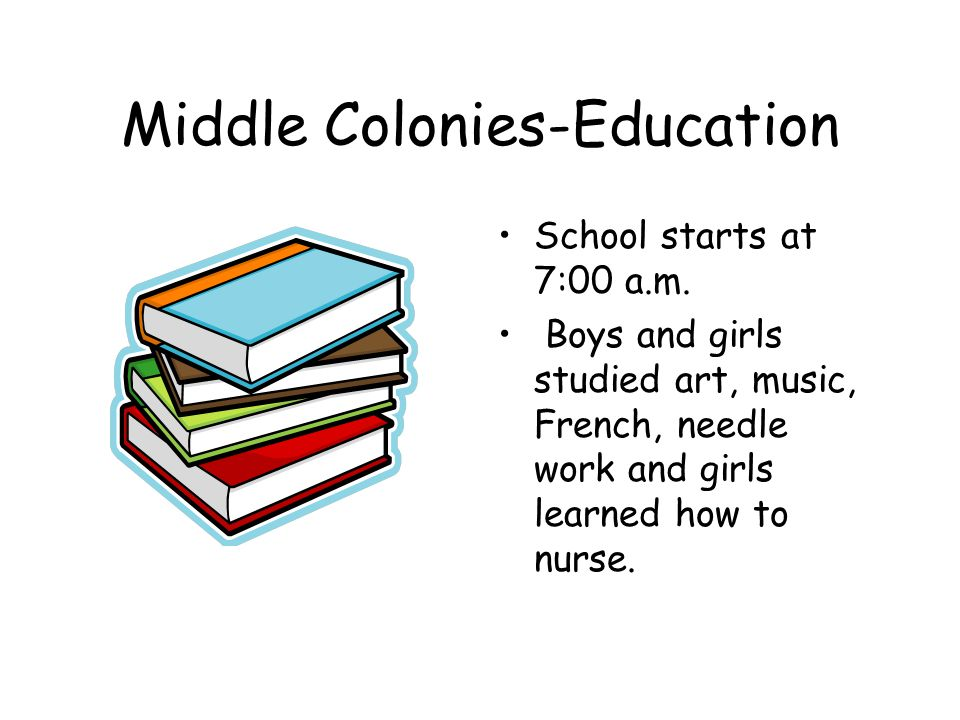 Middle Colonies-Economy They sold what they grew.