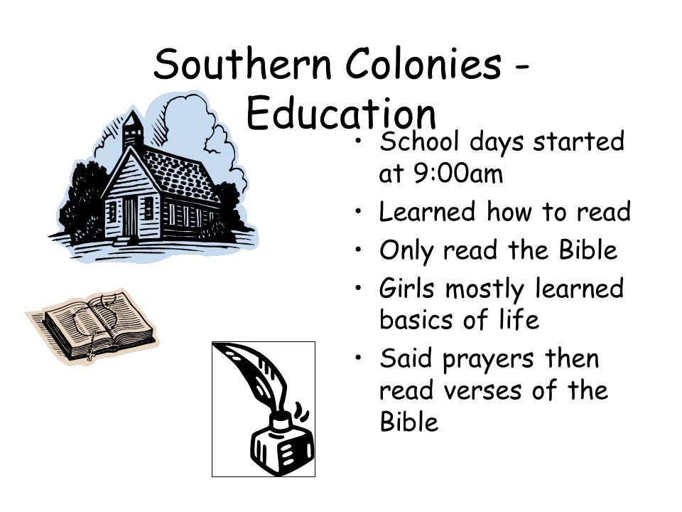 Southern Colonies -Economy Mainly grew tobacco, rice grapes, and indigo Most growing was done on plantations