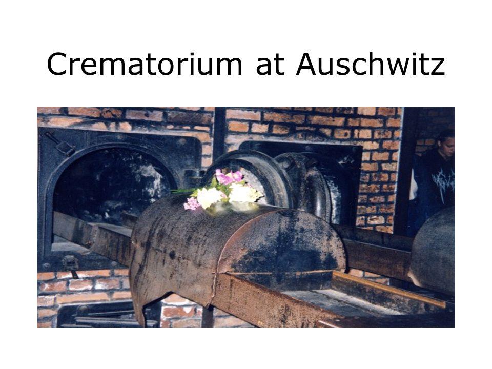 Crematorium at Auschwitz
