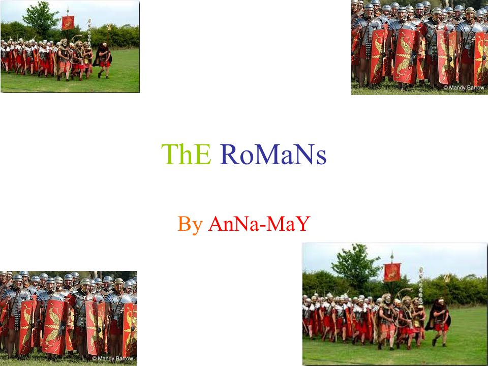 ThE RoMaNs By AnNa-MaY