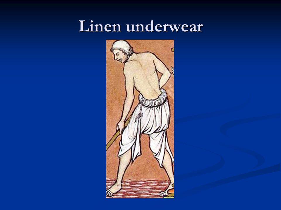Linen underwear