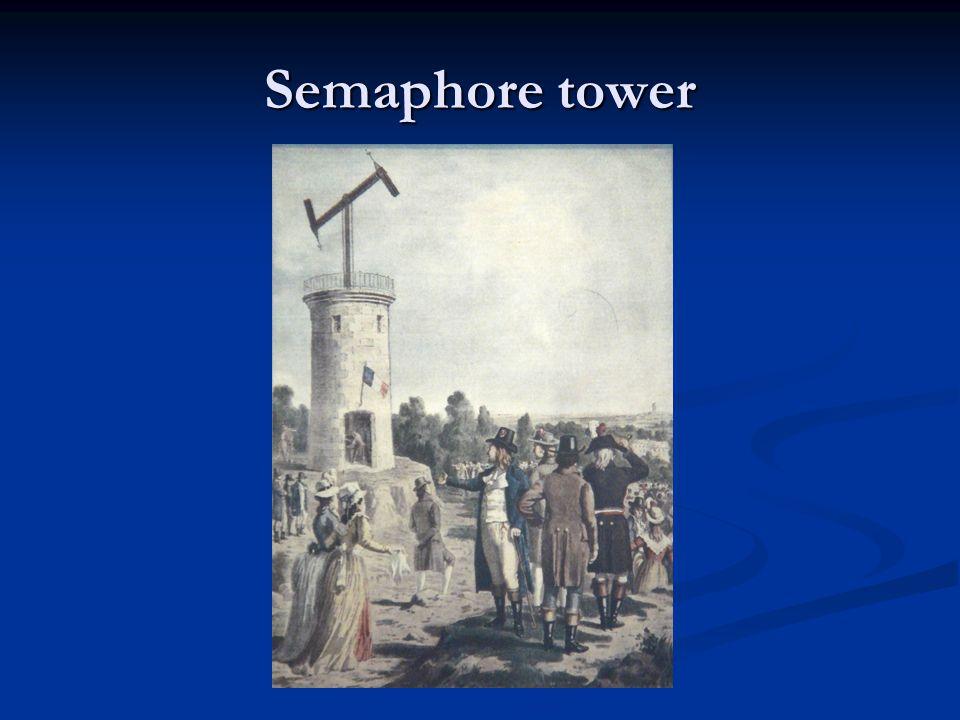 Semaphore tower