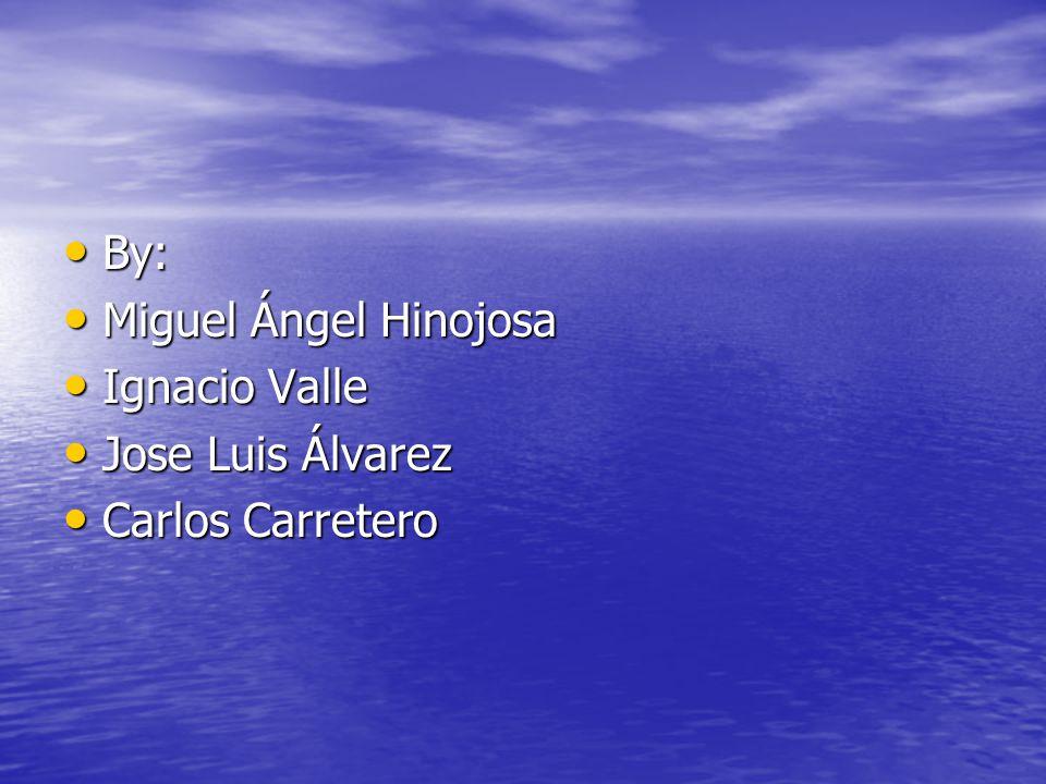 By: By: Miguel Ángel Hinojosa Miguel Ángel Hinojosa Ignacio Valle Ignacio Valle Jose Luis Álvarez Jose Luis Álvarez Carlos Carretero Carlos Carretero