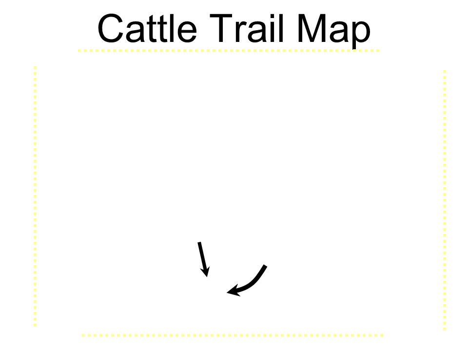 Cattle Trail Map