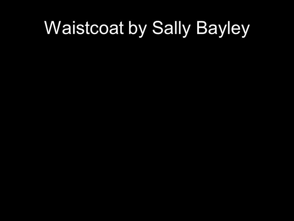 Waistcoat by Sally Bayley