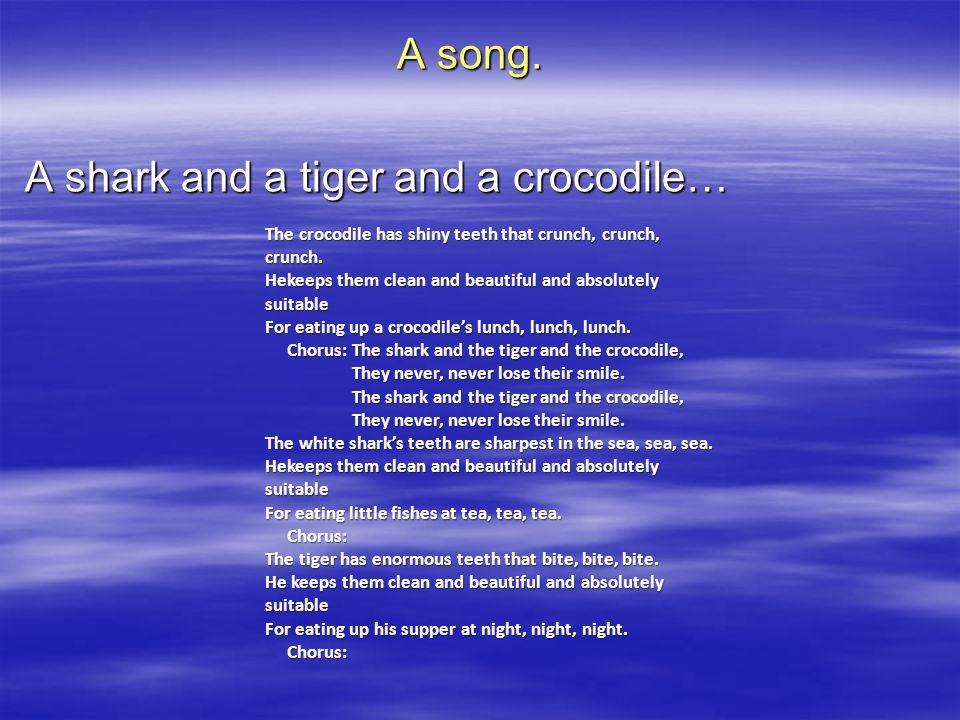 A song.
